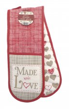 Made with Love Double Oven Gloves