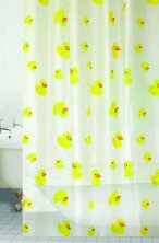 Blue Canyon Duck Peva Shower Curtain from Connollys