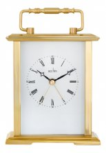 Acctim Gainsborough Gold Carriage Clock