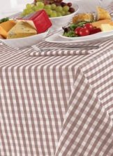 Gingham Checked Tablecloths
