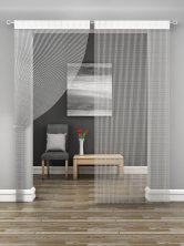 White Sparkle String Door Curtain