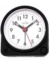 Acctim Playa Black Alarm Clock