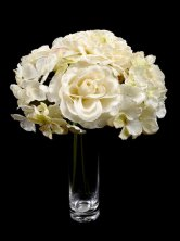 Bronte Mixed Bouquet Ivory Silk Artificial Flowers