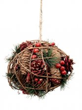 Christmas Hanging Ball Tree Decoration