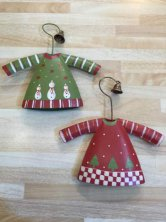 Jingle Clothes Hanger Christmas Tree Decoration