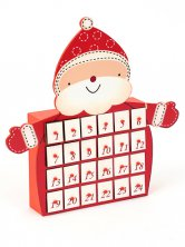 Christmas Jolly Santa Advent Calendar