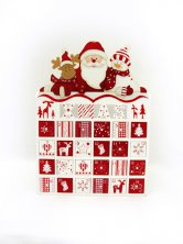 Christmas Santa & Friends Advent Calendar