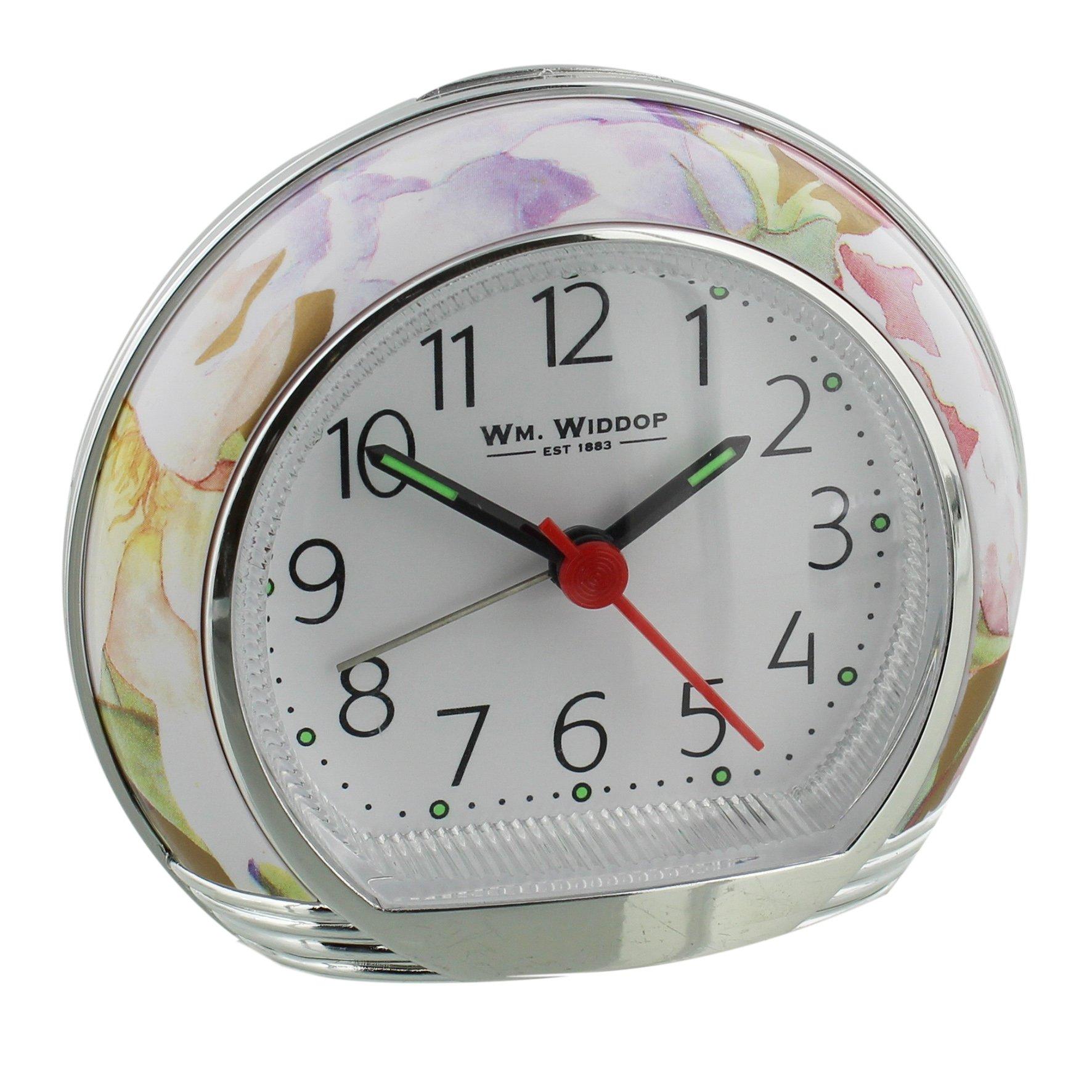 Widdop flower design alarm clock widdop alarm clocks for Designer alarm clock