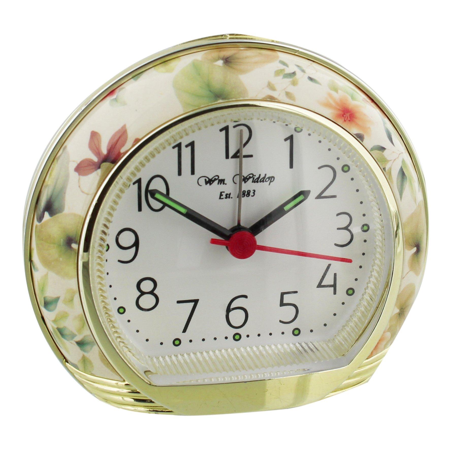 Widdop Flower Design Alarm Clock Widdop Alarm Clocks