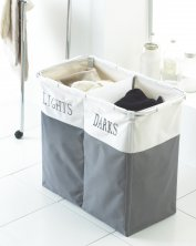"Laundry Hamper ""Light and Dark"""