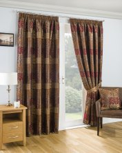 Casablanca Fully Lined Ready Made Curtains