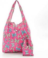 Eco Chic Lightweight Foldaway Shopper Butterfly