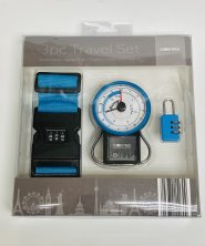 Baggage Travel Set - Scales, Strap & Padlock