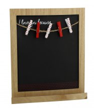 Lasting Memories Chalkboard - I Love You Because...