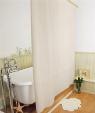 Peva Plain Shower Curtains