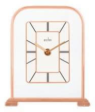 Acctim Capo Rose Gold Mantel Clock