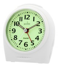 Acctim Broadway Smartlite Silent Sweeper Alarm Clock
