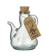 Mediterraneo Catalan Glass Oil Bottle 500ml
