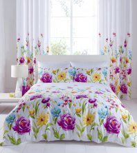 Floral Meadow Catherine Lansfield Duvet Set