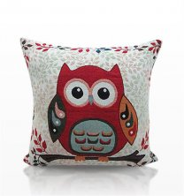Tapestry Owl Cushion