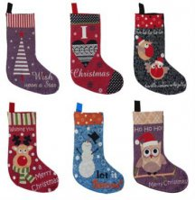Tapestry Design Christmas Stocking