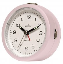 Acctim Orla  Sweep Movement Round Alarm Clock