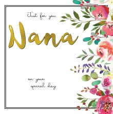 Belle Nana Birthday Greetings Card