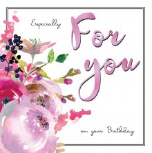 Belle Especially For You Birthday Greetings Card