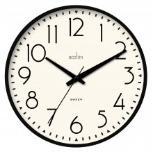Acctim Earl Silent Sweep Wall Clock