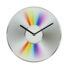 Musicology Glass Wall Clock - CD