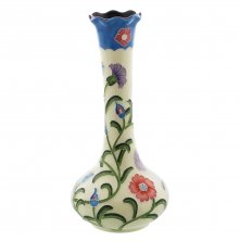 Old Tupton Ware Secret Garden Pattern Vase