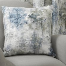 Blue Woodland Cushion Cover