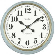 Acctim Brixworth 50cm Wall Clock Soft Blue