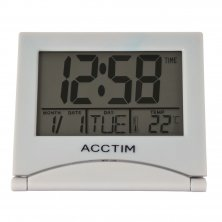 Acctim Mini Flip II LCD Alarm Clock