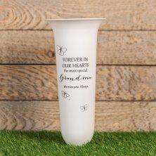 Grandma Thoughts Of You Graveside Vase