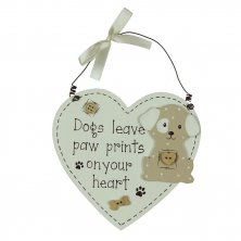 Best of Breed Dogs Leave Paw Prints Wall Plaque