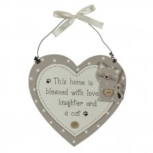 Best of Breed This Home is Blessed with a cat plaque