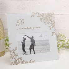 Amore 50th Anniversary Photo Frame 50 Wonderful Years