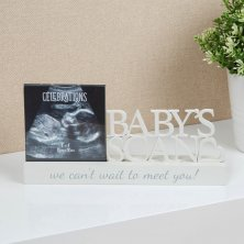 "Celebrations Baby Scan Photo Frame 4"" x 4"""