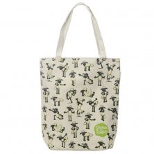 Shaun the Sheep Cotton Bag with Zip and Lining
