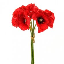Artificial Poppy Bundle