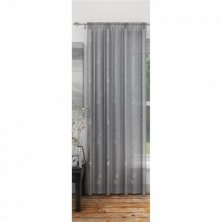 Annalise Silver Voile Panel