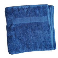 Egyptian Cotton Electric Blue Bath Towel