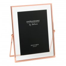 Impressions Copper Finish Photo Frame Narrow Edge