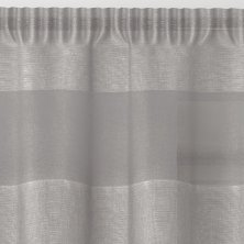 Oakland Silver Voile Panel