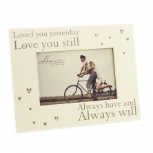 "Amore MDF Photo Frame ""Loved You Yesterday"""