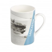Imperial War Museum Lancaster Photo Mug with Tin