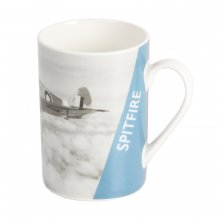 Imperial War Museum RAF Spitfire Photo Mug with Tin