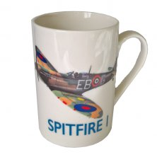 Imperial War Museum RAF Spitfire Mug with Tin