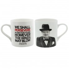 Words of Winston Mug We Shall Persevere